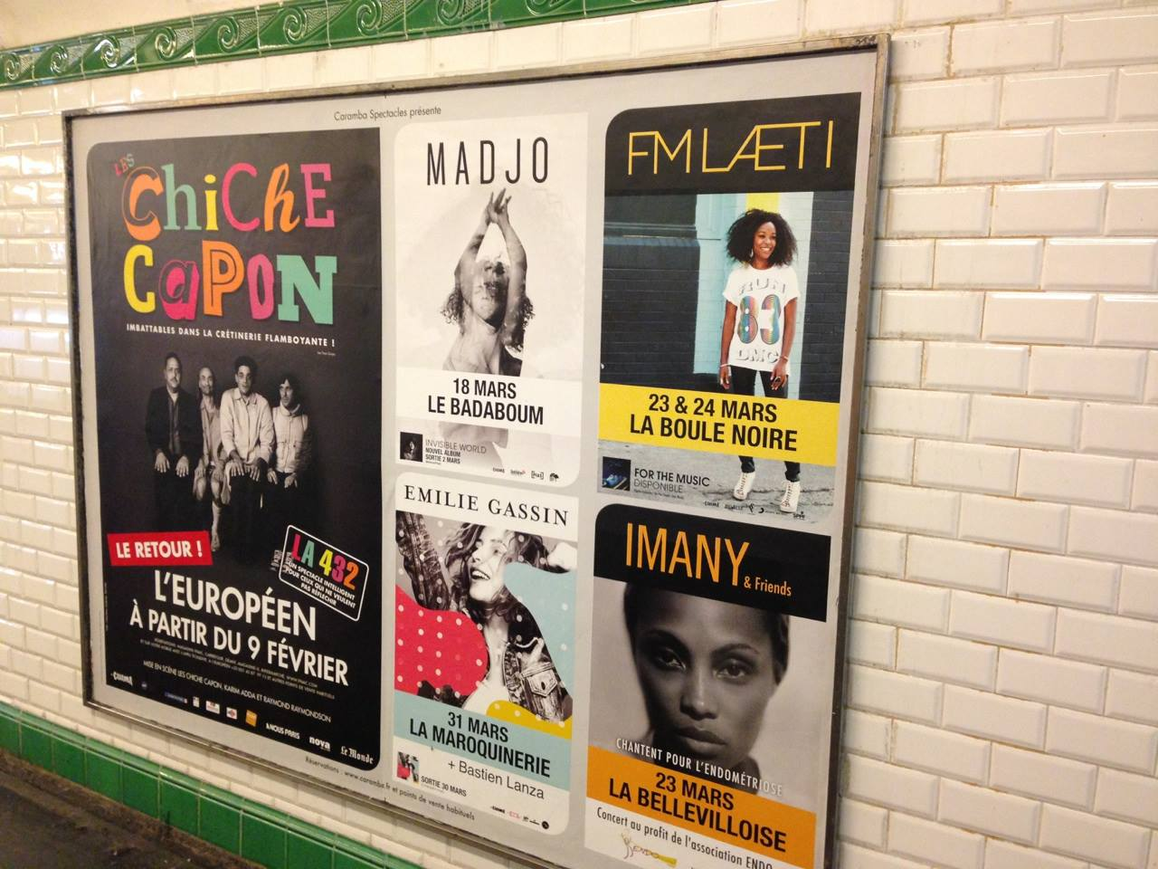 IMANY charity concert-poster metro